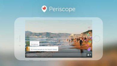 Periscope adopte le mode paysage