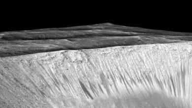 Photo de NASA : il y a de l'eau liquide sur Mars !