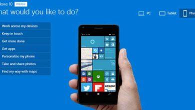 Photo of Gros flou sur les smartphones compatibles avec Windows 10 Mobile