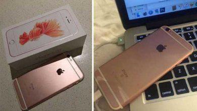 Photo de iPhone 6S : une cliente chanceuse a eu droit à son modèle or rose avant l'heure