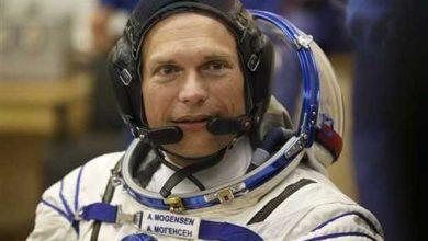 Photo de ISS : un premier Danois dans l'espace
