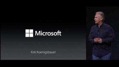 Photo de Microsoft a participé à la keynote d'Apple !