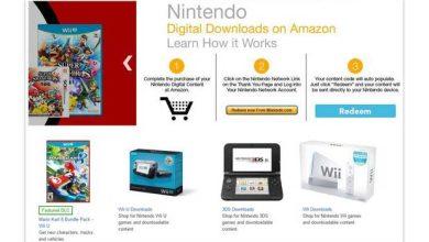 Nintendo : Amazon ouvre une boutique pour des jeux dématérialisés pour Wii U et 3DS