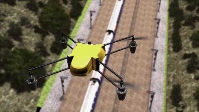 Photo de La SNCF teste l'utilisation des drones