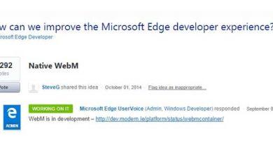 Photo de Windows 10 : le navigateur Microsoft Edge va se doter du format WebM