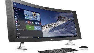 Photo de Envy Curved : HP présente un impressionnant PC tout-en-un équipé d'un écran incurvé