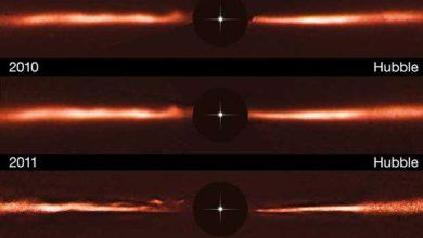 Photo de Espace : l'énigme soulevée par la naine rouge AU Microscopii