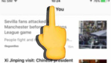 iPhone : vite, vite, il faut passer à iOS 9.1 pour le « doigt d'honneur »