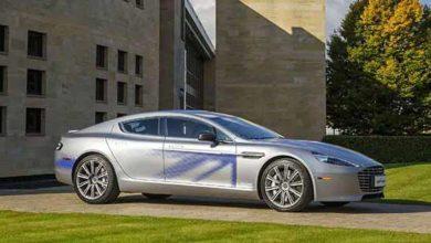 Rapide Electric Aston Martin dévoile son concept de limousine de luxe 100 électrique