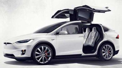 Photo of Tesla fait sensation avec son Model X, son SUV 100% électrique