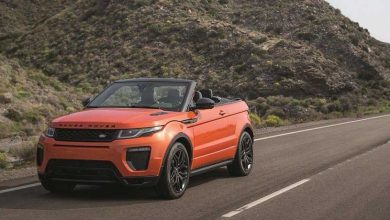 Photo de Range Rover Evoque : une version décapotable pour le printemps 2016