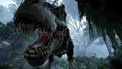 Photo de Réalité virtuelle : être dans la peau d'un bébé dinosaure, c'est possible grâce à « Back to Dinosaur Island »