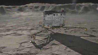 Photo de ESA publie une vidéo retraçant l'atterrissage chaotique de Philae