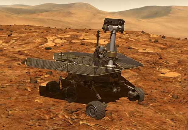 Le planétologue Shoshanna Cole a utilisé une grande variété de données recueillies par des instruments du rover Spirit pour élaborer sa théorie. Image du rover.