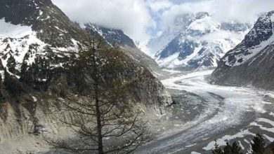 Photo de La Mer de Glace du Mont-Blanc a perdu trois fois plus d'épaisseur que la moyenne