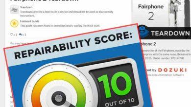 Photo de Le Fairphone 2 a droit à une note de 10/10 en matière de réparabilité