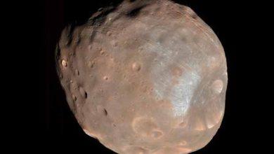 Photo de Mars : une lune en moins, mais un anneau en plus