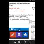MetroMail Gmail Windows Phone