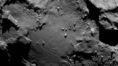 Photo de Rosetta : de l'oxygène qui pourrait changer notre compréhension de la création de notre système solaire