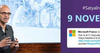 Photo de Microsoft : rencontre au sommet à l'Élysée