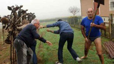 «#Slipgate» : l'homme en slip et armé d'une pelle amuse le web
