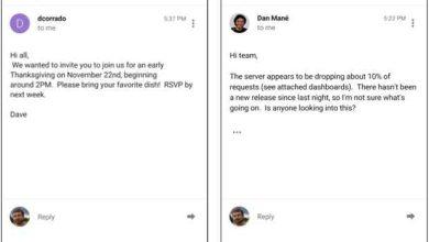 Photo of Smart Reply : Google ajoute du machine learning pour vous aider à répondre aux mails