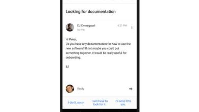 Photo de Inbox by Gmail : Google annonce la suggestion de réponses automatiques