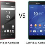 Sony Xperia Z5 compact vs Sony Xperia Z3 compact a compact contest.