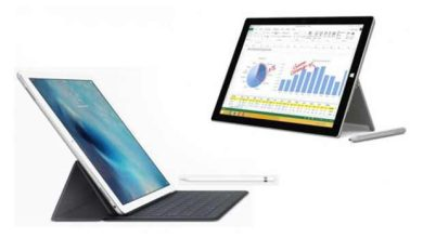 Photo de Faut-il choisir l'iPad Pro ou la Surface Pro 4 ?