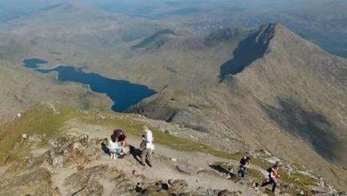 Photo de Le Mount Snowdon peut être découvert via Google Street View