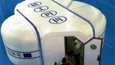 SHEE, le prototype d'une maison autodéployable pour Mars