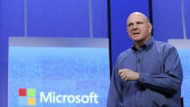 Photo de Steve Ballmer s'assagit vis-à-vis de Linux, il ne le qualifie plus de cancer