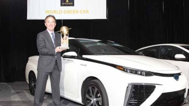 Photo de Le titre de World Green Car of the Year 2016 a été décerné à la Mirai de Toyota
