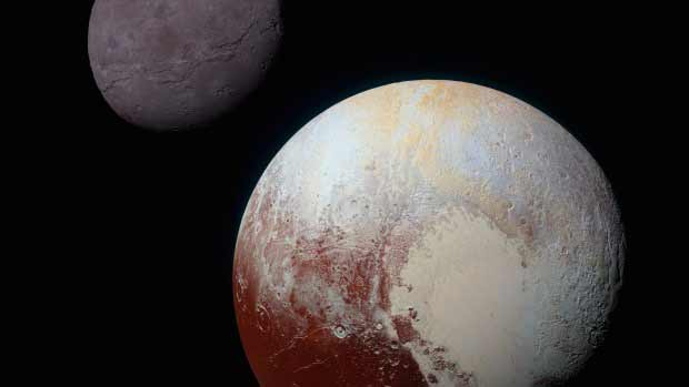 Pluto-and-its-moon-Charon-taken-by-New-Horizons