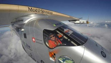 Photo de Comme Charles Lindbergh, Solar Impulse 2 a traversé l'Atlantique sans escale