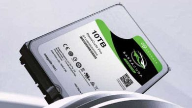 Photo de Un important volume de stockage avec le Seagate BarraCuda Pro 10 To