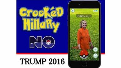 Photo of Hillary Clinton et Donald Trump récupèrent la notoriété de Pokémon Go