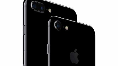 Photo de Les films de protection détériorent aussi l'iPhone 7 noir de jais