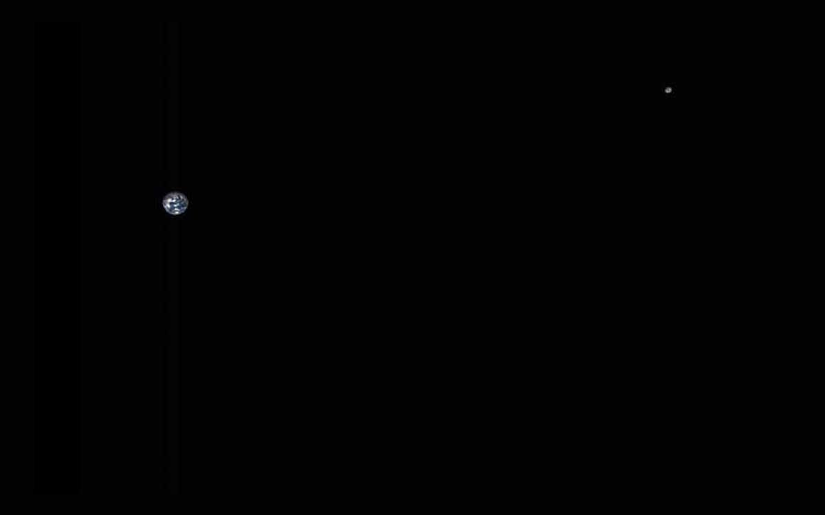 La distance de la Terre à la Lune révélée dans une nouvelle image frappante de la NASA