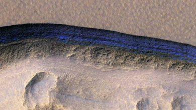 Photo de Des scientifiques découvrent de la glace propre juste en dessous de la surface de Mars
