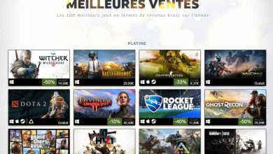 Photo of Steam a publié sa liste des 100 jeux les plus rentables en 2017 !