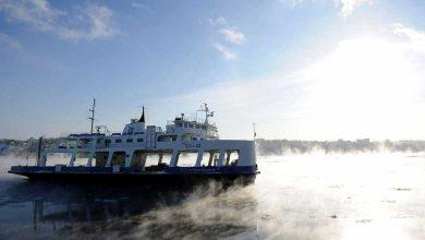 Photo de Un traversier et ses 24 passagers coincés entre Québec et Lévis