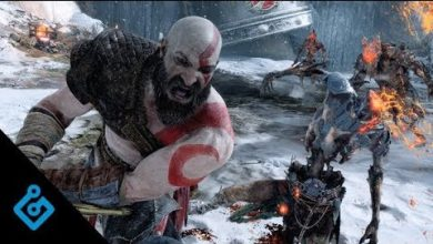 Photo de God of War sur la couverture de Game Informer en février 2018