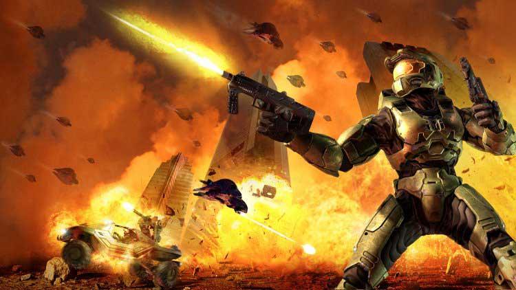"""""""Halo 2"""" est l'un des nombreux titres rétrocompatibles de la Xbox One. Microsoft"""