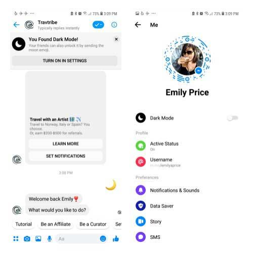 Comment activer le mode secret de Facebook Messenger sur Android ?