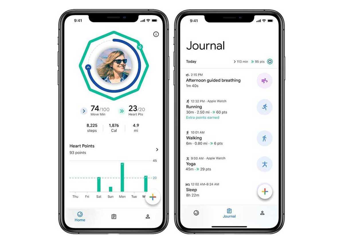 Google Fit enfin sur l'iPhone