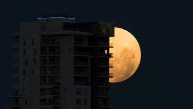 Photo de Oui, il y a une pleine lune ce soir, mais ce ne sera pas rose