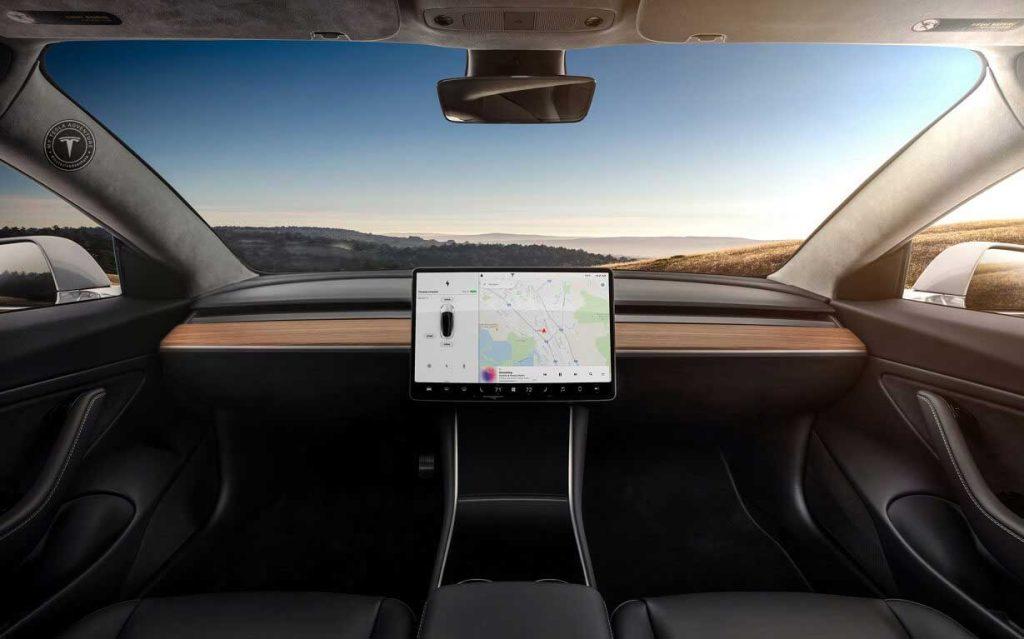 Tesla montre une voiture sans volant