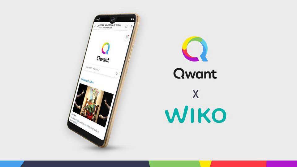 Wiko a lancé la semaine dernière son smartphone View2 Pro Qwant, destiné aux particuliers, dans les bureaux de Paris de Qwant avec, de gauche à droite, Tristan Nitot (vice-président de Qwant), Julien Heang (COO de Wiko) et Eric Leandri (PDG de Qwant). QWANT