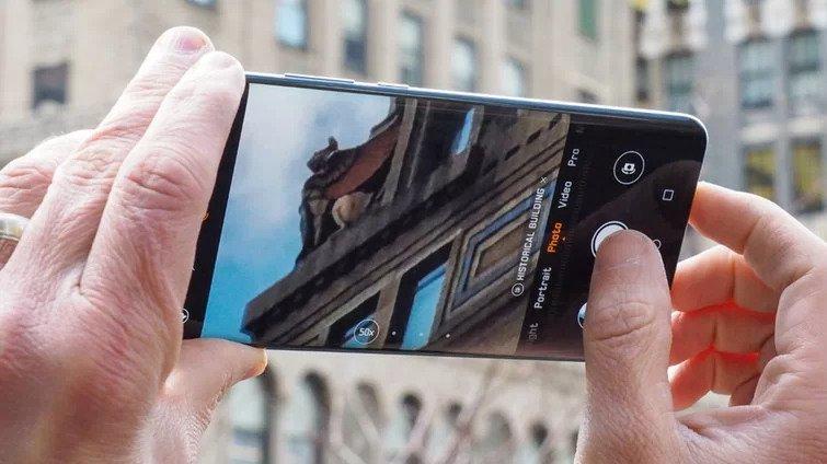 La caméra du Huawei P30 Pro offre un zoom 5x périscopique et un zoom numérique 50x.